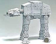 maquette en carton AT-AT